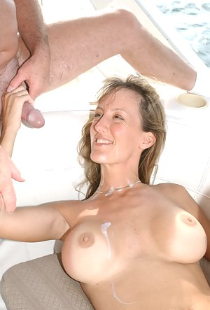 Free Cum on Mature Tits Porn Pictures