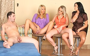 Free Mature Reverse Gangbang Porn Pictures